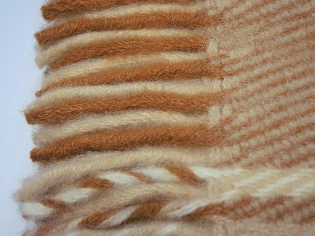 Плед шерстяной Saule Амаретто 140x205 4000 руб.