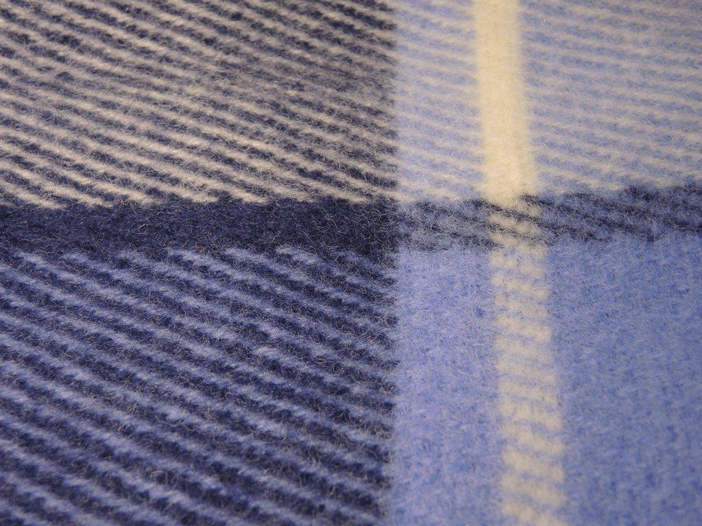 Плед шерстяной Saule Бригантина 140x205 4000 руб.