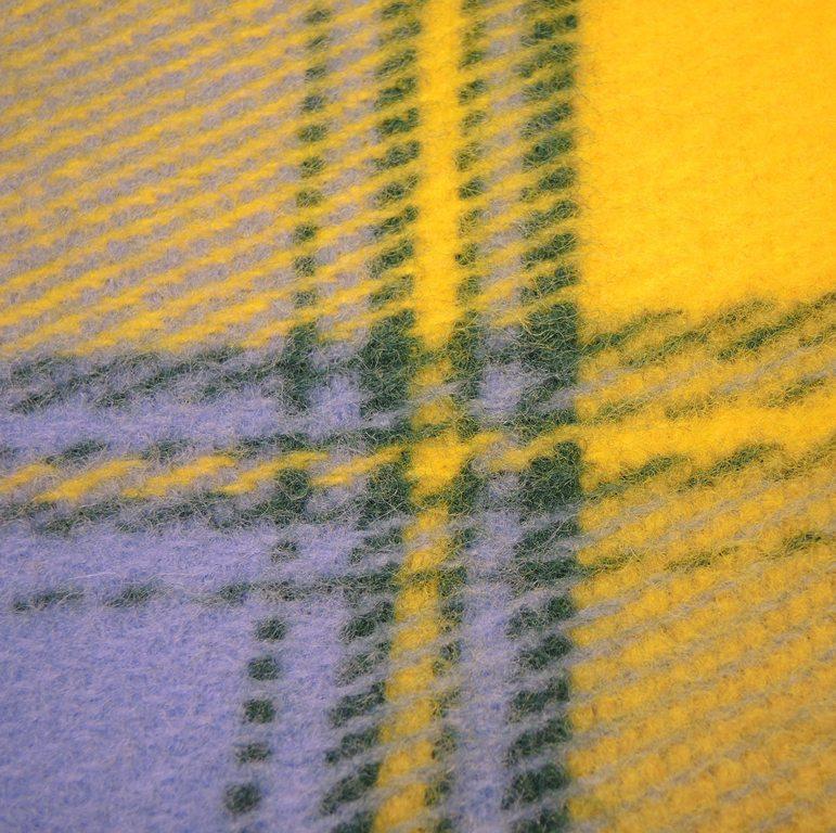Плед шерстяной Saule Весна 170x210 4890 руб.