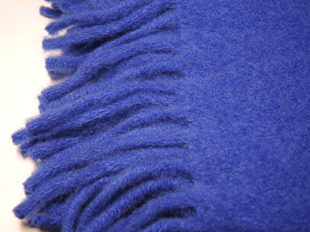 Плед шерстяной Saule Синий 140x205 4000 руб.