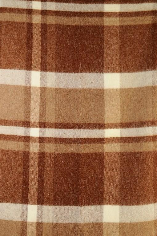 Плед из шерсти Альпака Фундук 4290 руб.