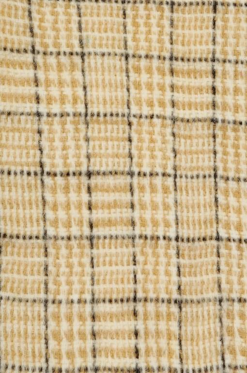 Плед шерсть-акрил Wool Plaid Песок 2140 руб.