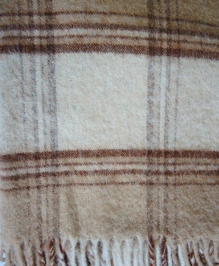 Плед из шерсти Альпака Кунжут 3310 руб.