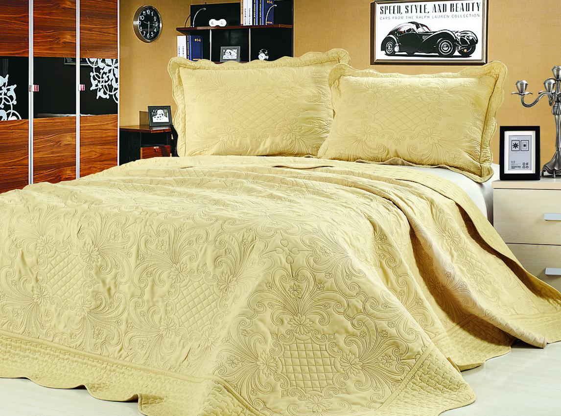 Покрывало с наволочками Lux Cotton Ампир 240x240,50x70 2740 руб.