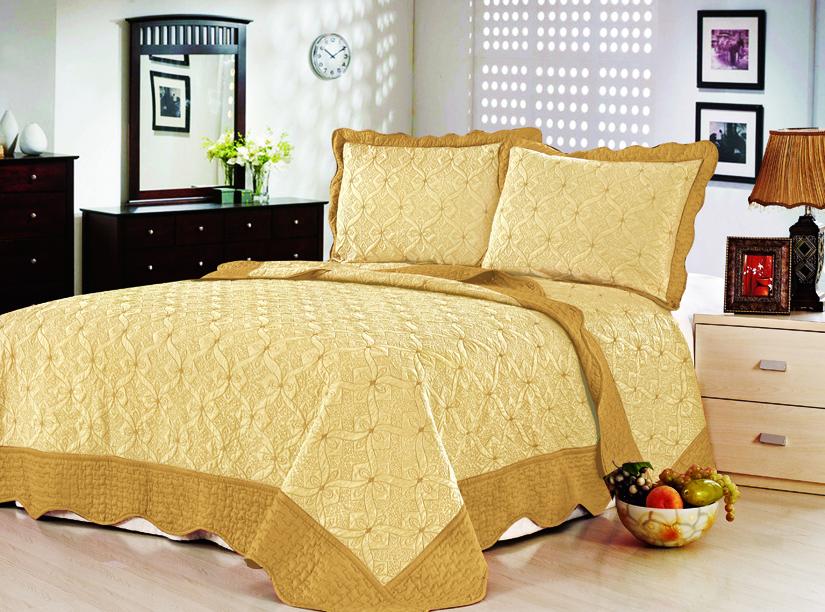 Покрывало с наволочками Lux Cotton Классик 240x240,50x70 3160 руб.