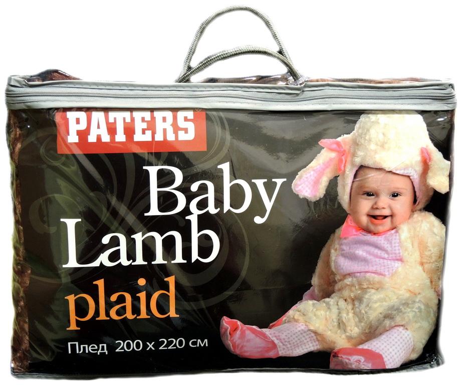 Плед Baby Lamb Бежевый 2180 руб.