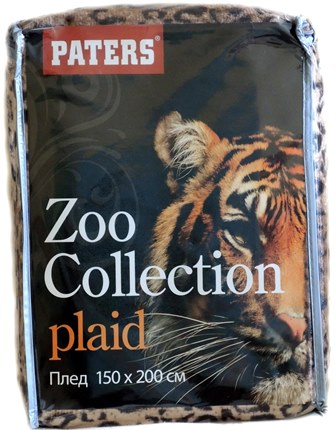 Плед Zoo Collection Рысь 1370 руб.