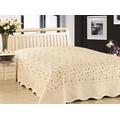 Покрывало с наволочками Lux Cotton Нежность 240x240,50x70 3160 руб.